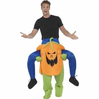 Halloween pak pompoen