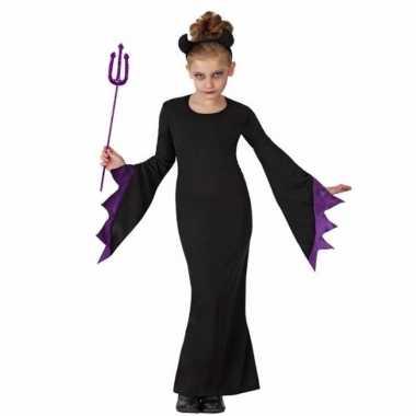 Halloween pak zwarte duivel kids