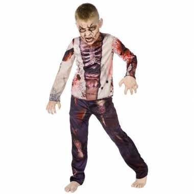Halloween zombie pak kinderen